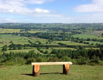 Best view of all - From the Chevin looking acrossWharfedale. Thanks to Sarah Armstrong