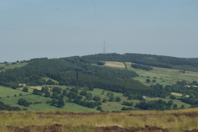 View from the Otley to Skipton Road