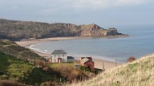 Cayton Bay, thank you Les Price