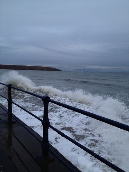 A bit breezy in Filey. Thank you Victoria