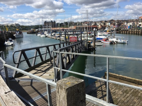 Day out in Scarborough, the Harbour