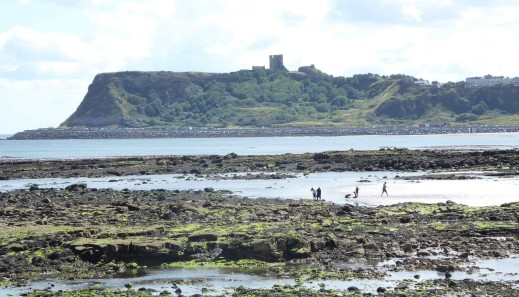 Scalby mills looking across to the castle