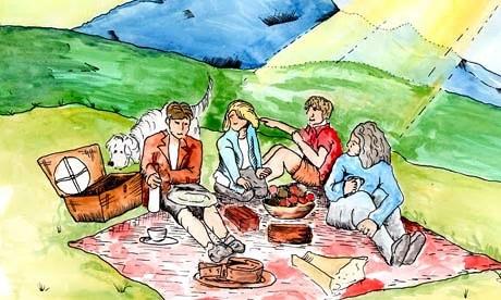 Famous five picnic