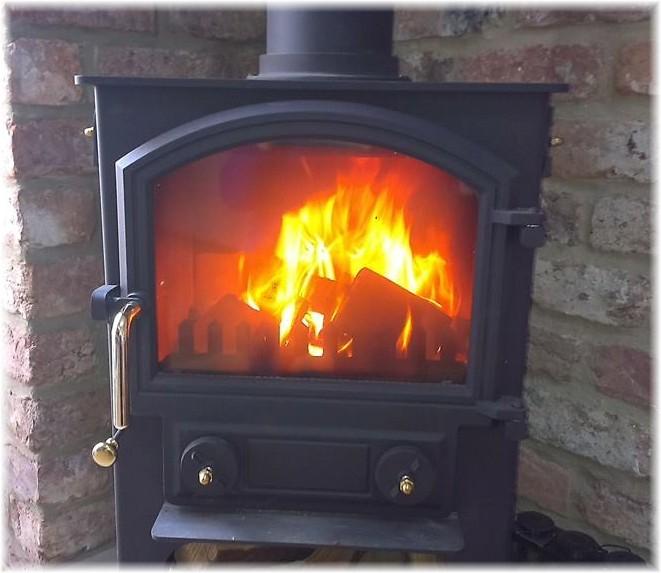 Log burner Mine