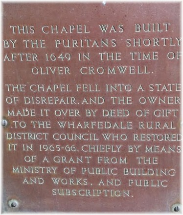Puritan chapel sign 2