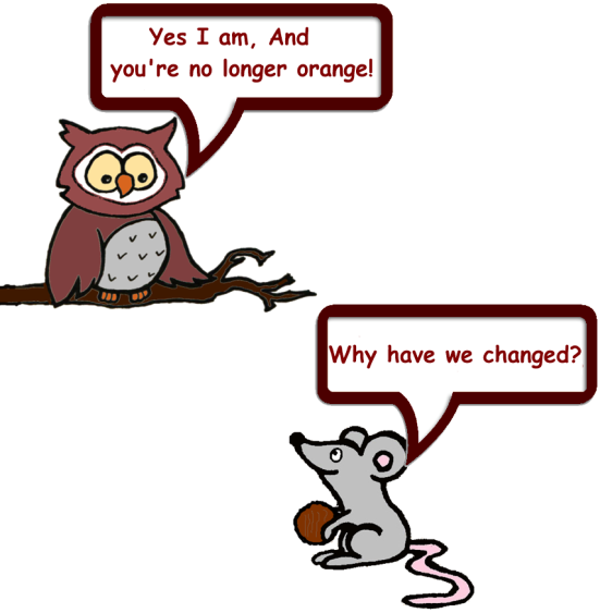new Owl and Mouse 4
