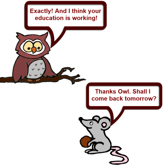 new Owl and Mouse 7