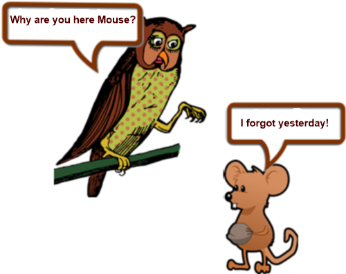 Owl and mouse (2) PAGE 1