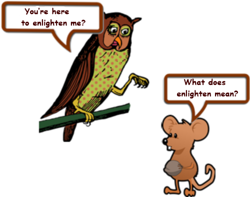 Owl and mouse page 3