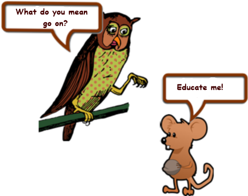 Owl and mouse page 5