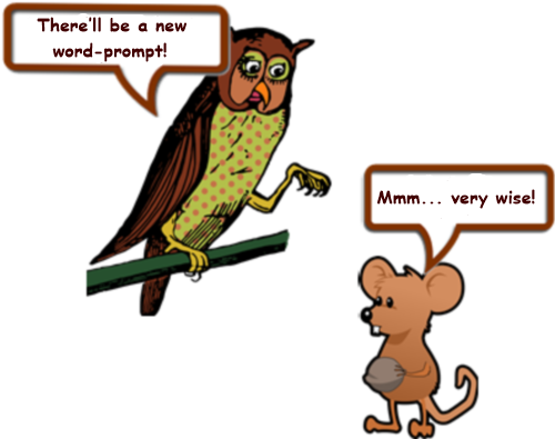 Owl and mouse page 7