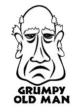 Grumpy old man