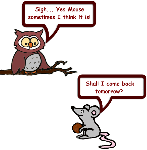 new Owl and Mouse Asmospheric 10