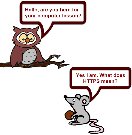 Owl and Mouse technical 1