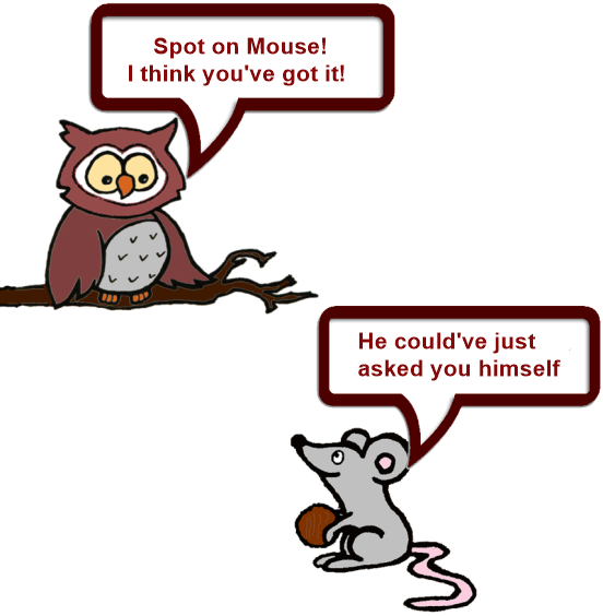 Owl and Mouse technical 8