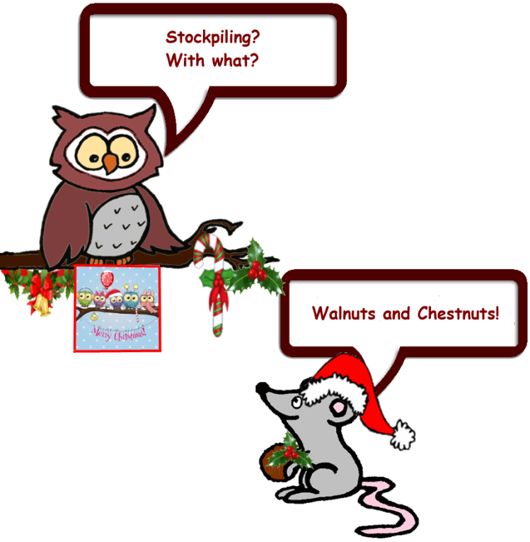 Owl and Mouse do Christmas 3