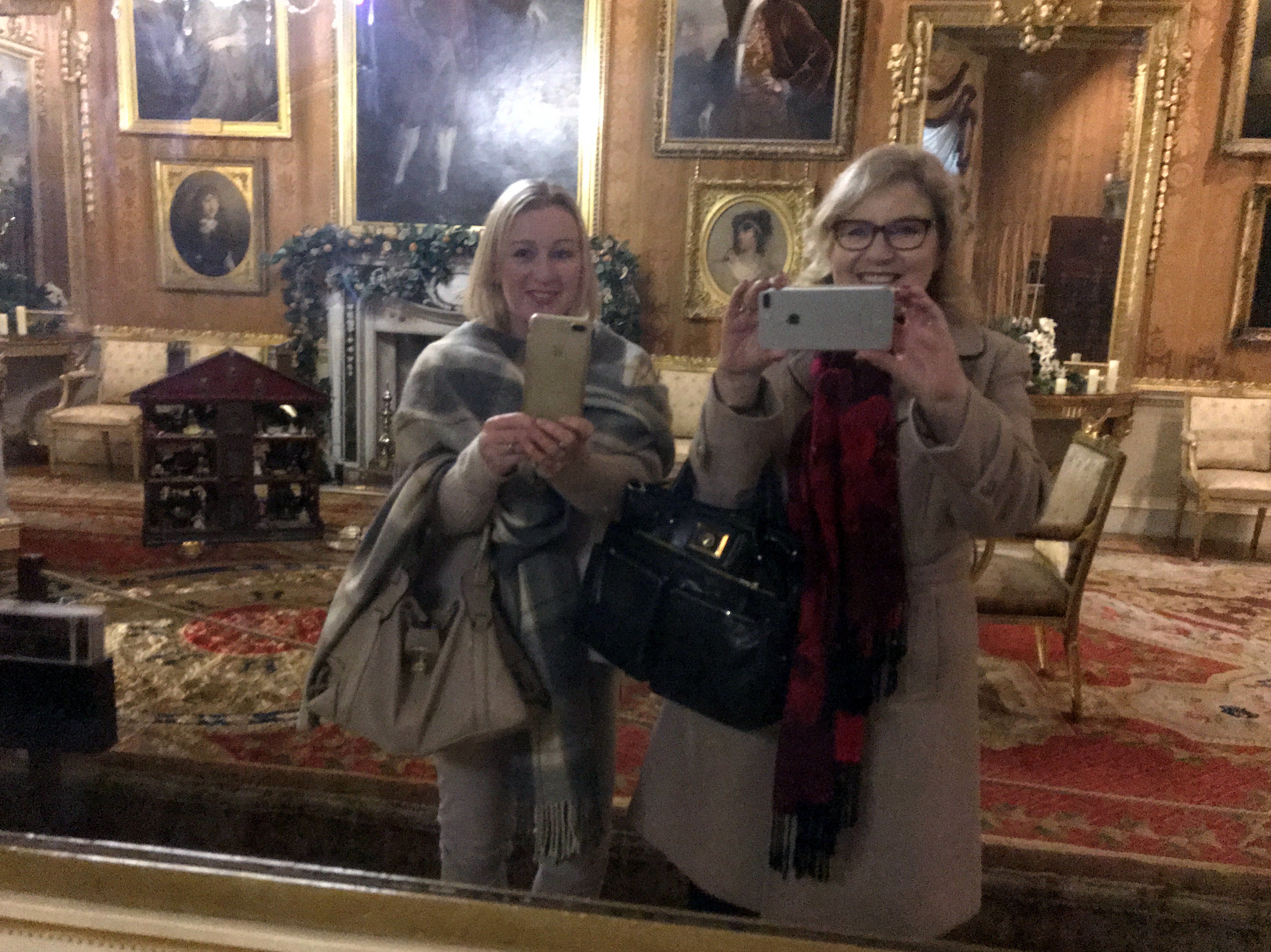 Victoria and me at Harewood