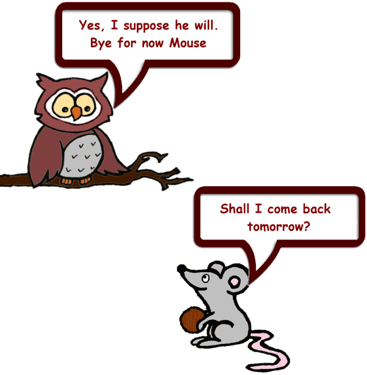 Owl & Mouse and Squirrel's nuts 10