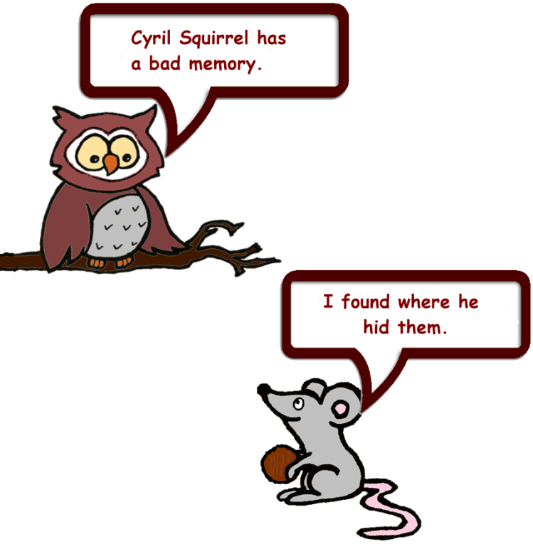 Owl & Mouse and Squirrel's nuts 4