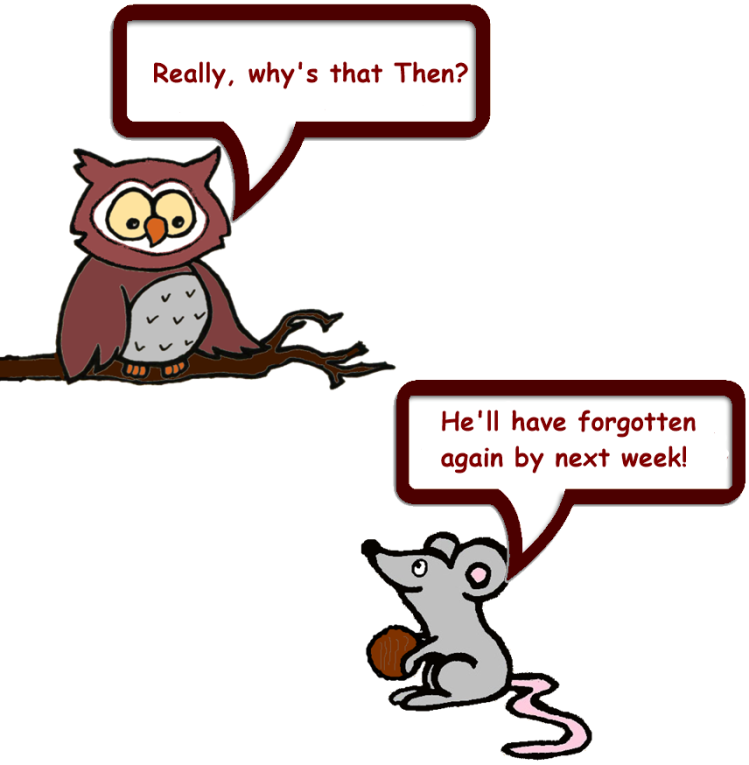 Owl & Mouse and Squirrel's nuts 9