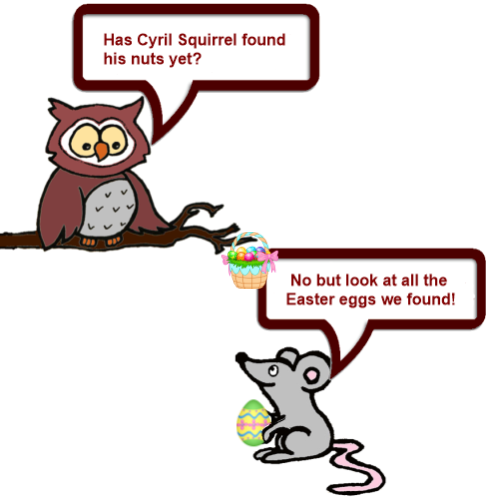 Owl and Mouse Easter 5