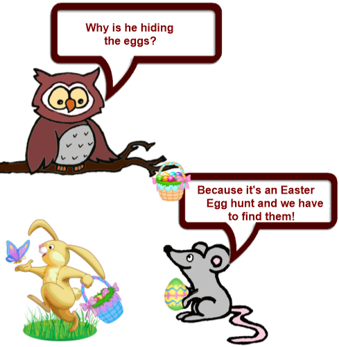 Owl and Mouse Easter 7