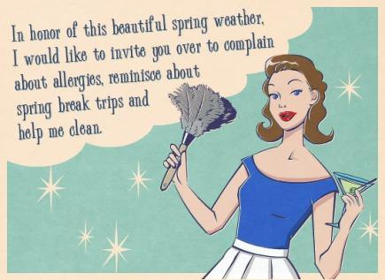 A Spring Clean