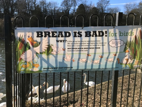 Sign from Roundhay Park