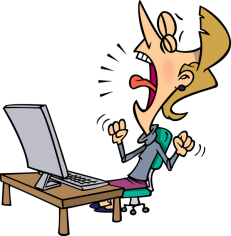 Frustrated-Woman-with-a-Computer