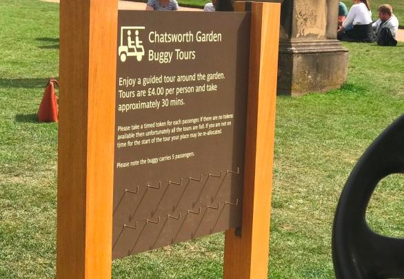 Garden Buggy Tour