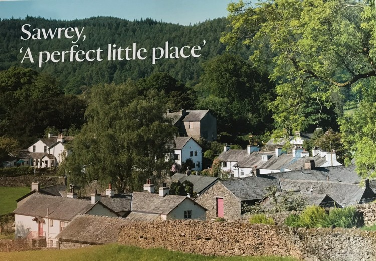Sawrey Village from National Trust