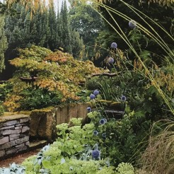 The sensory garden at Chatsworth