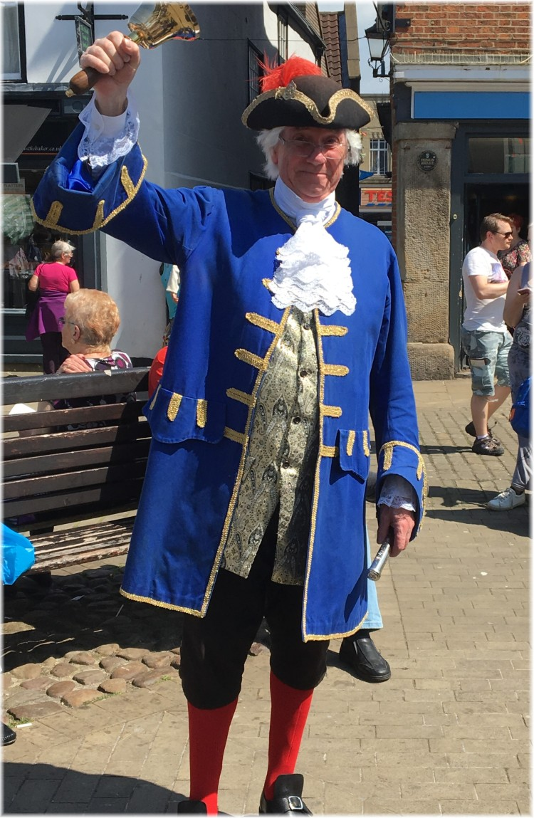 The Knaresborough Town Crier