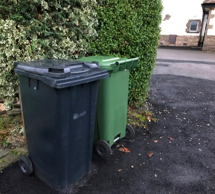 Dustbins at home