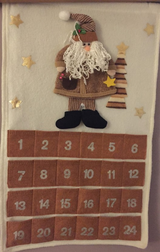 Advent calendar from Lizzy