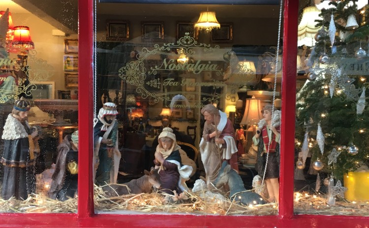 The Tea Rooms Nativity Scene