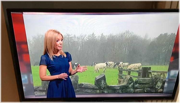 BBC Weather pic 5th Dec 2018