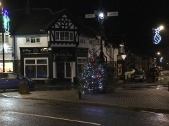 Village Christmas lights 3