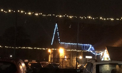 Village Hall Christmas lights