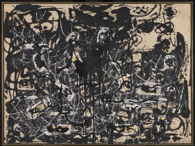 Yellow Islands 1952 by Jackson Pollock 1912-1956