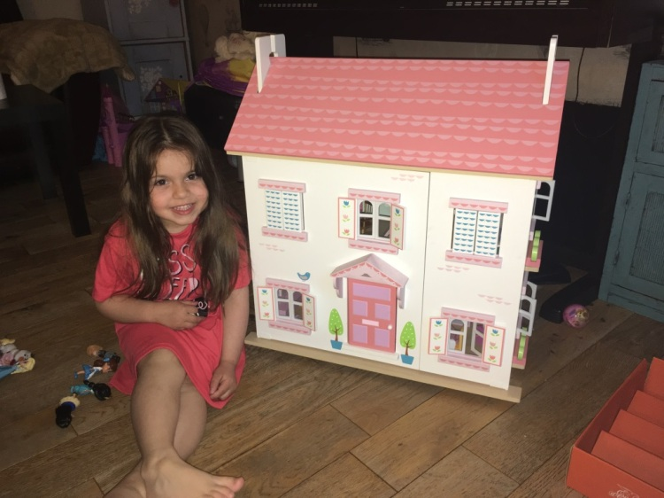 Evie's new doll's house