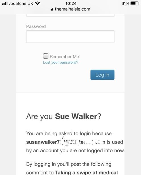 Are you Sue