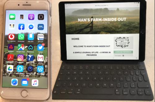 iPhone and IPad