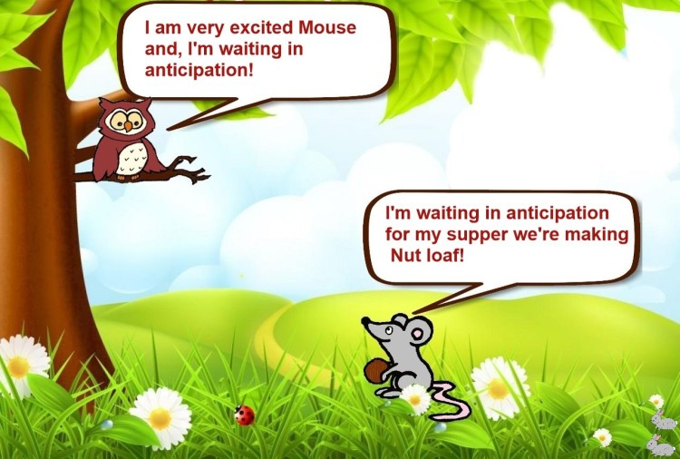 Owl and Mouse Woodland Anticipation slide 11