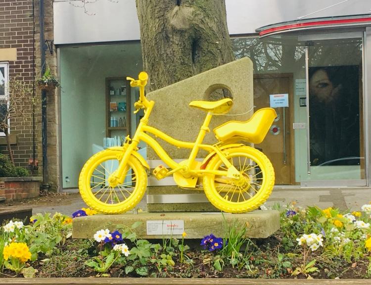 Yellow bike 2
