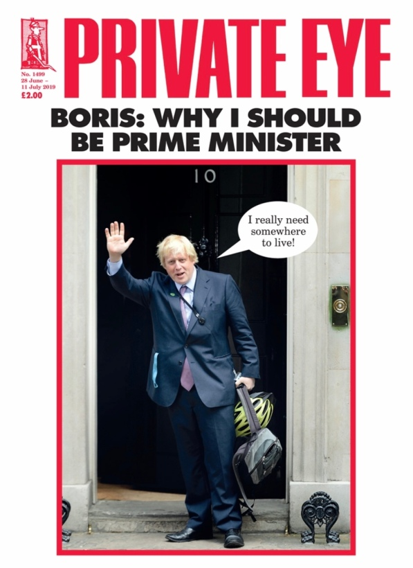 Boris and Private Eye