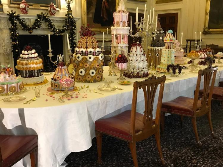 Harewood Cake display