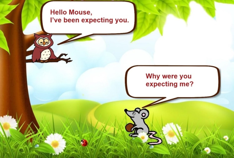 Owl and Mouse - No doubt- Slide 1