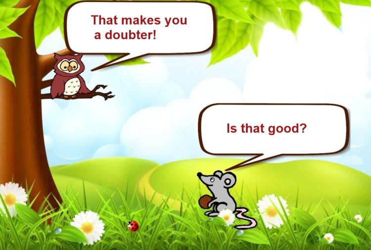 Owl and Mouse - No doubt- Slide 11