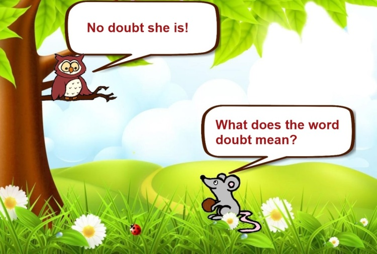 Owl and Mouse - No doubt- Slide 7